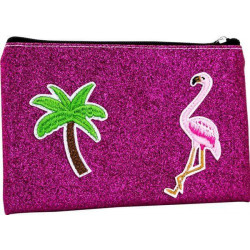 Trousse de toilette FLAMANT ROSE