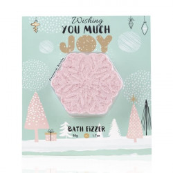 Carte de Vœux HAPPY HOLIDAYS avec boule effervescente bullechic