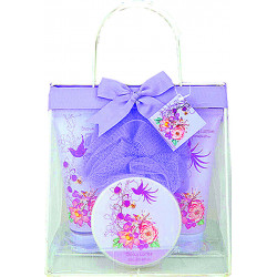 Coffret PURPLE (21x22x11 cm), senteur : Raisin
