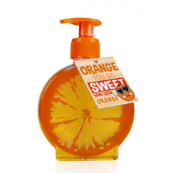 Distributeur de savon mains ORANGE YOU SO SWEET Bullechic