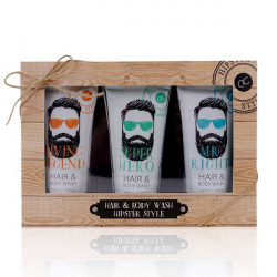 Coffret HIPSTER STYLE gel douche & cheveux Bullechic