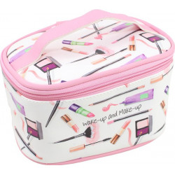 Trousse de toilette WAKE UP AND MAKE UP (21x14x12 cm)